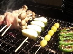 野菜の肉巻き・野菜焼き